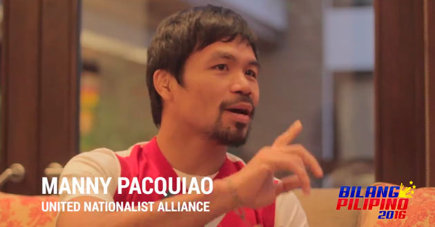 "Pacquiao's responsibility to ""common sense"""